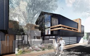 modern architecture townhouses Melbourne